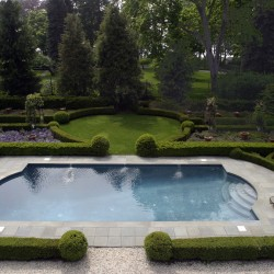 Pool and Parterre Garden