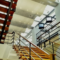 Floating Ceiling and Staircase