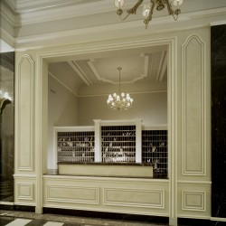 French Paneling in Lobby