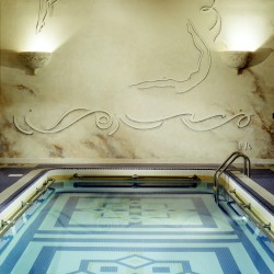 Swimming Pool Custom Art